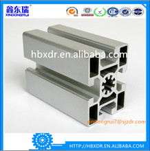 Best selling 40mm * 40mm extrude aluminum rail with t slot