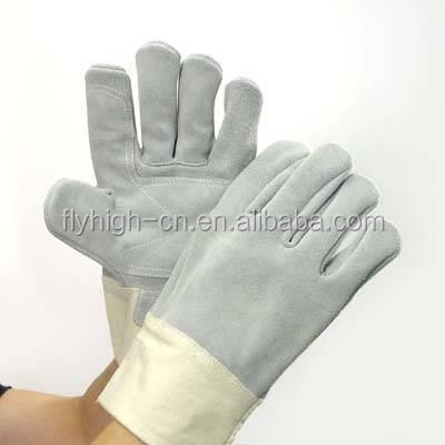 High quality leather working glove cheap leather gloves