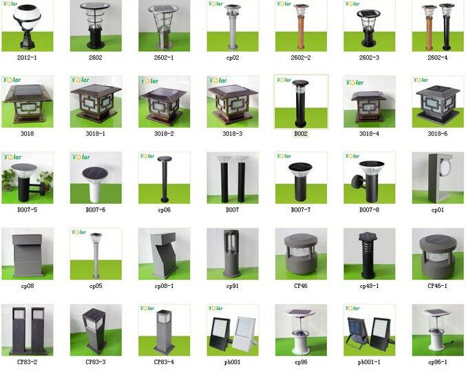 China Solar Company Powerful Garden Lamps Portable. Chinese Aluminum Garden  Decorative Led Outdoor Solar Pillar Lamp