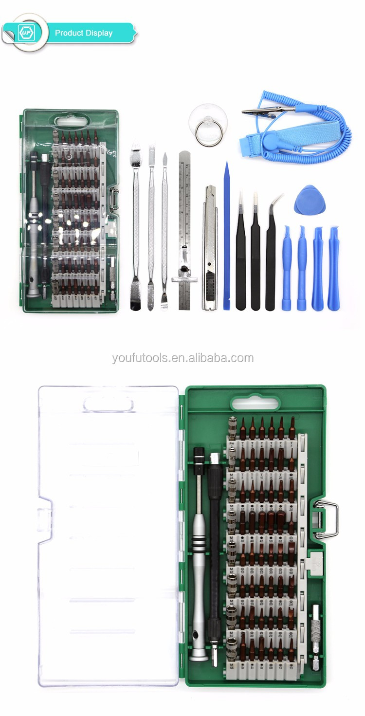 Facroty 70 in 1 Precision Screwdriver Set with Magnetic Driver Kit, Repair Tool Kits For iPad, iPhone, Laptops