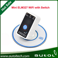 ELM327 WIFI OBD2/OBDII ELM 327 OBD2 Wifi Scanner CAN-BUS Diagnostic Tool WITH ON/OFF Switch