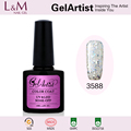 chinese supplier 2017 nail gel polish glitter color breathable oem