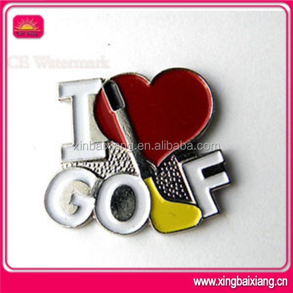 personalized pin badge,custom golf & sports lapel badge maker