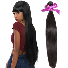 the best Nice styles and prices double weft remy virgin extension16 18 20 inch straight 8a grade brazilian hair