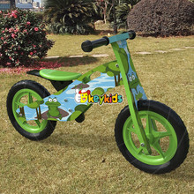 2017 Wholesale original work wooden balance bike without pedals cheap wooden children bike without pedals for toddlers W16C175
