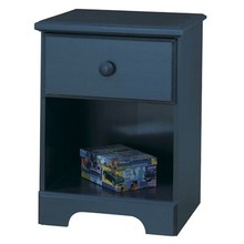 Wholesale customized best price modern style black leather night stand with drawers/bedroom furniture nightstands