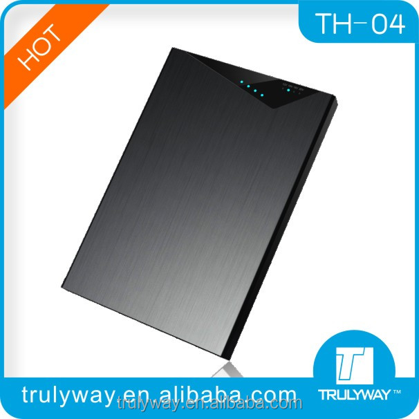 Trulyway TH-04 Aluminum case high capacity 20000mAh external battery for laptop