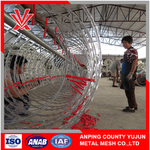 Electric galvanized hot-dipped galvanized razor barbed wire cost