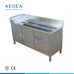 AG-WAS006 hospital furniture hospital stainless steel scrub sink