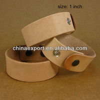 Snap Leather Bracelet Blanks