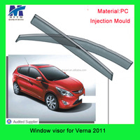for Verna 2011 car parts 12 months warranty Thickness 3-4.5mm car sun visor