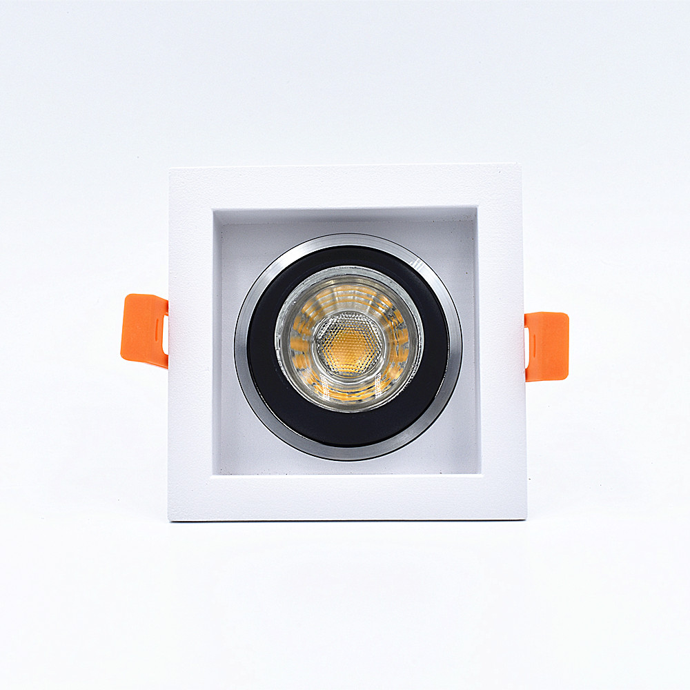 New type led bulb aluminum GU10 MR16 recessed led downlight housing