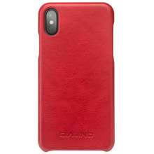 2017 QIALINO fashion new top leather Slim case for iphone 8