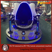 Chinese manufacturer 3seats vr 9d game , triple seats 9d vr cinema new arrival
