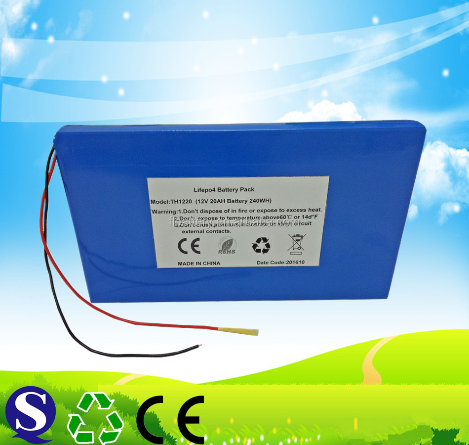 12v 18650 battery pack lithium battery pack 12v 20ah factory direct sales
