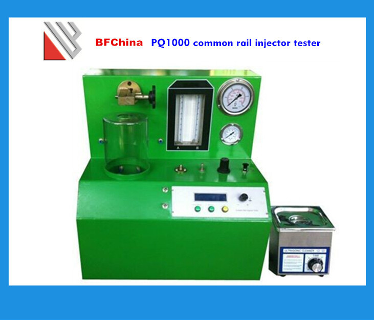 With fuel injector cleaner piezo tester PQ1000 common rail test bench