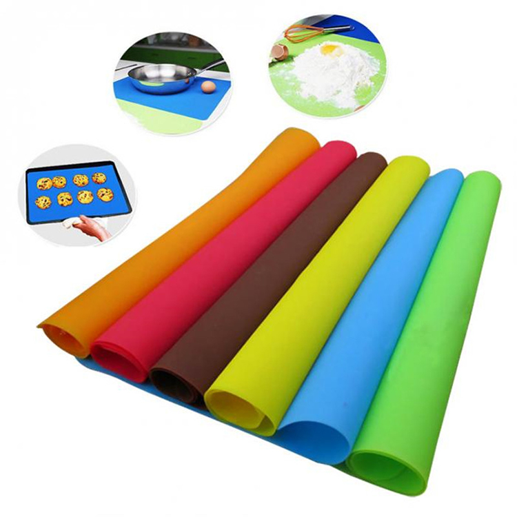 hot sale kitchen table mat/silicone pastry mat