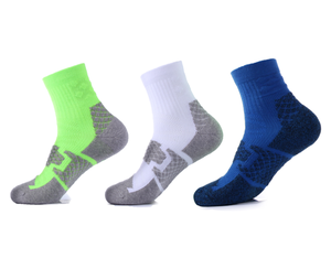 High Quality Cycling Socks Compression Cushion Short Athletic Compression Running Socks