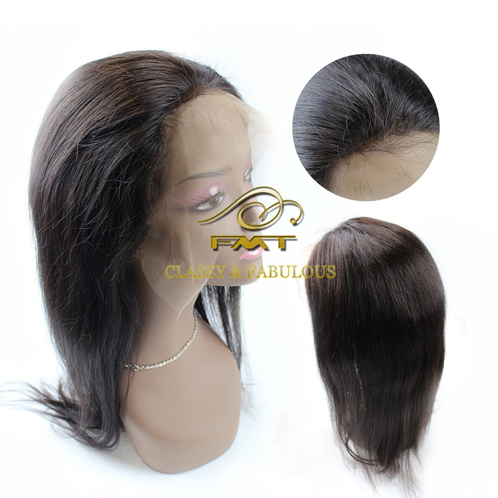 Wholesale Black Hair Products Virgin Human Full Lace Wigs Brazilian 100% Real Hair Wigs