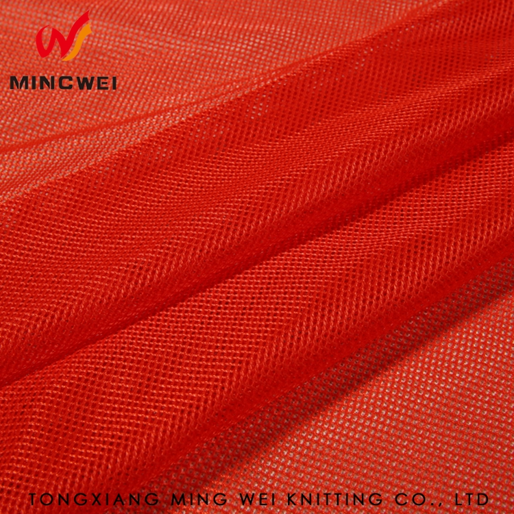 Wholesale Promotional Prices Polyester Stiff Mesh Fabric for Bag Lining