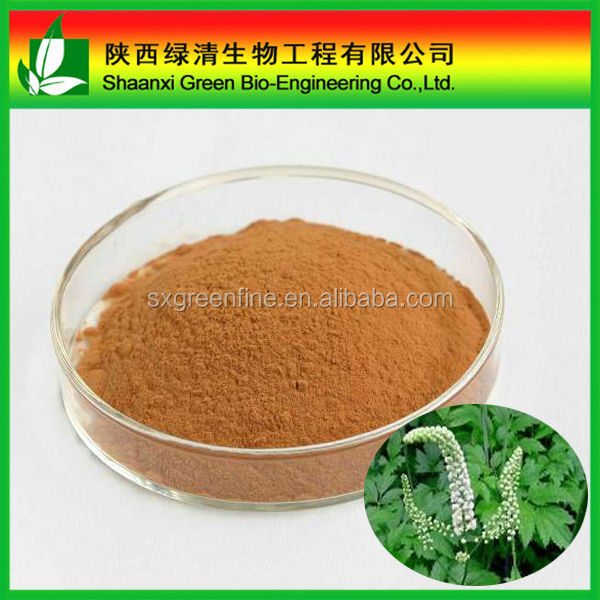 100% Natural Black Cohosh Herb Extract Powder
