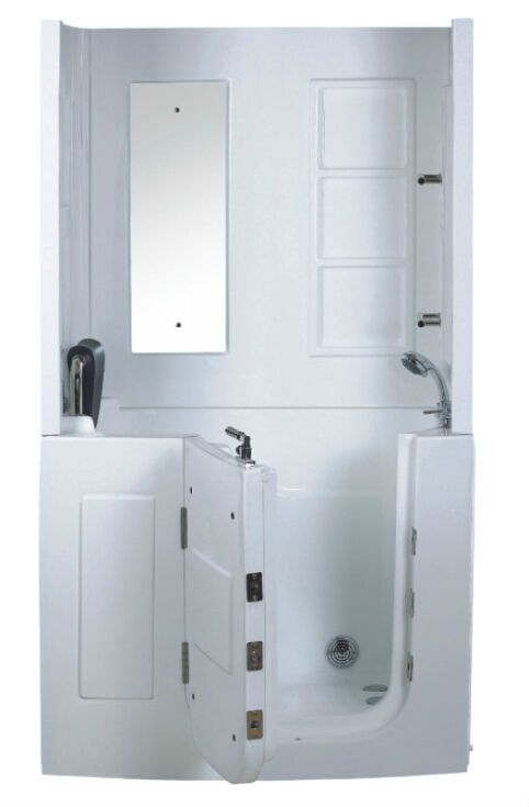 Tub Shower Combo Walk In Walk In Shower Enclosure Elders