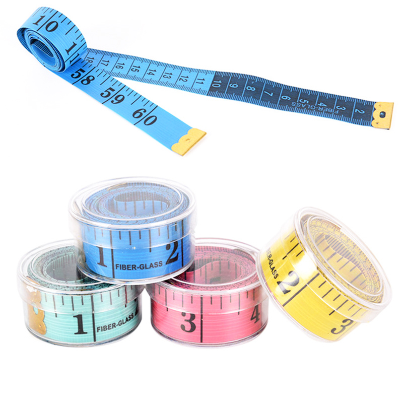 Soft Flat Sewing Ruler Meter Sewing <strong>Measuring</strong> Tape Random Color Body <strong>Measuring</strong> Ruler Sewing Tailor Tape <strong>Measure</strong>