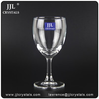 Low Cost High Quality glass stemware glassware,goblet