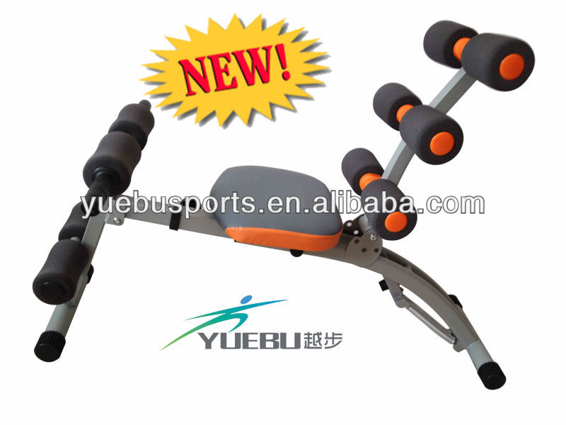 YB-AD002 Adjustable Abdominal Trainer with Dumbbells