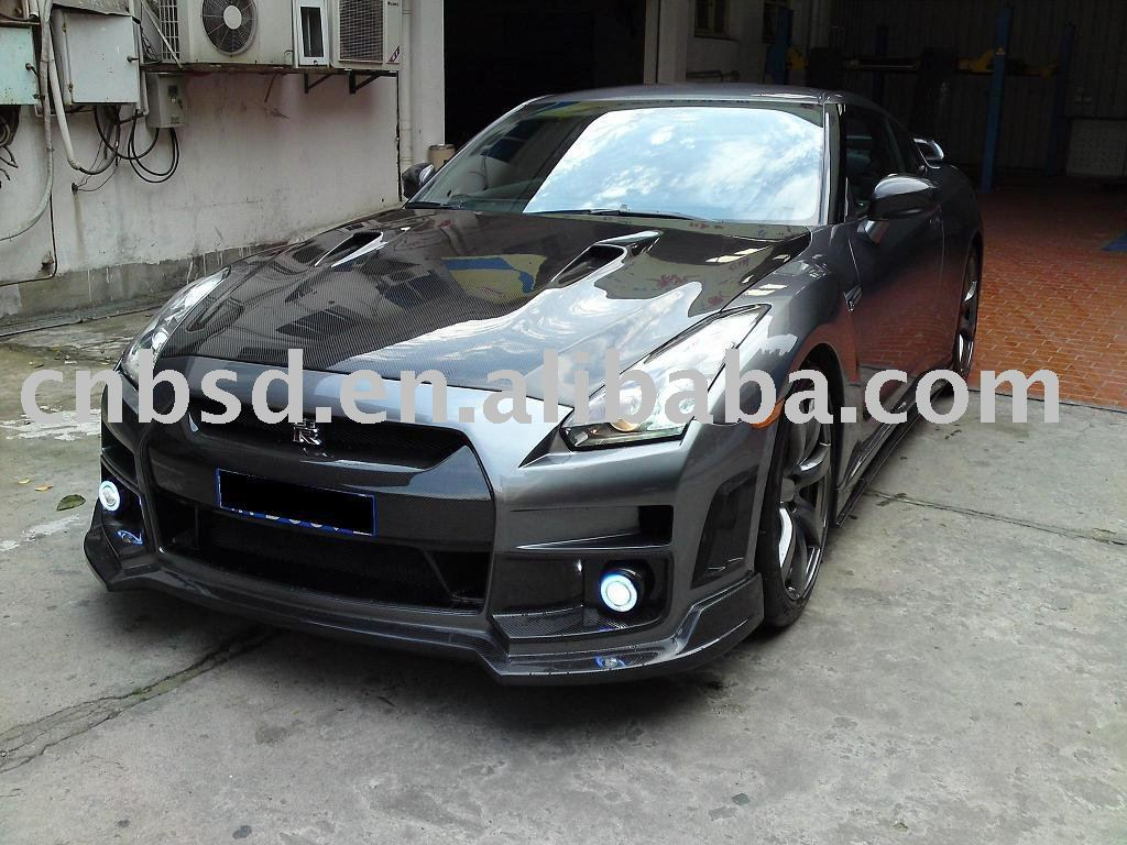 Body kit for nissan gtr r35 of the bumper spoiler hood of the body kit for nissan gtr r35 of the bumper spoiler hood of the carbon fiber buy bodykitatuo partscar bumper product on alibaba vanachro Images