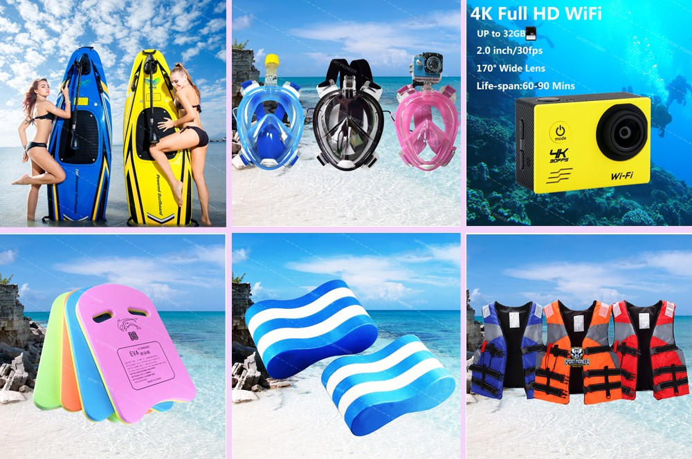 Top selling printed pool buoy Clip legs plate