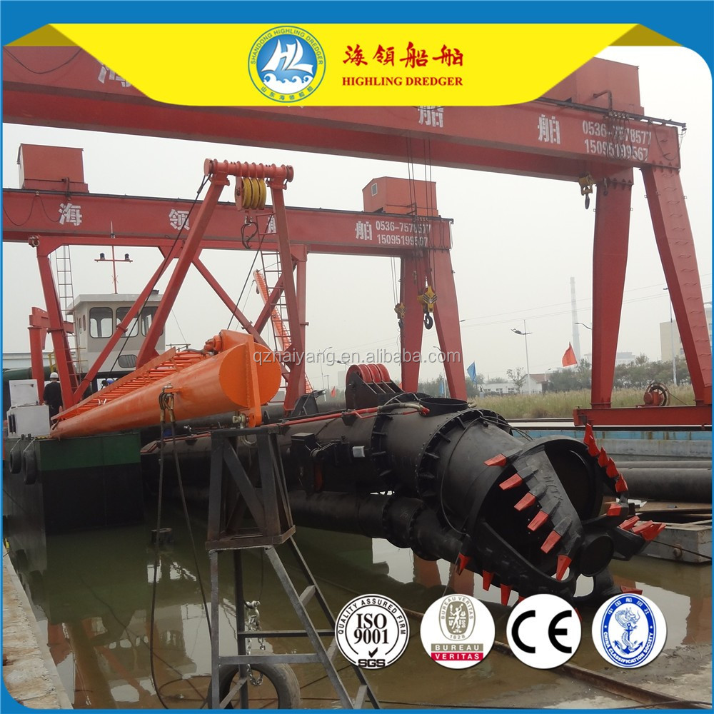 HL200 cutter suction sand dredger price in Bangladesh