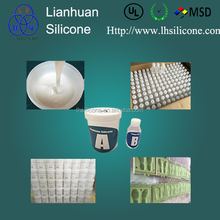 liquid rtv-2 molding silicone rubber for pour shoe soles making