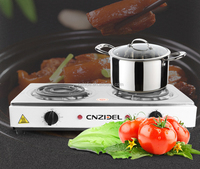 2000w double electric range stove cnzidel