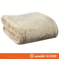 New Design soft synthetic wool heating electrical blanket