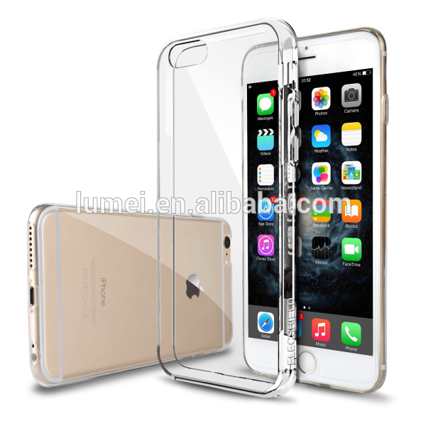 Hot Products Ultra Thin Soft TPU Case Cover For Apple iPhone 6 Plus, For iphone 6 plus Case Smartphone