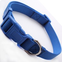 Top selling high quality custom colorful strong blank dog collar with best price