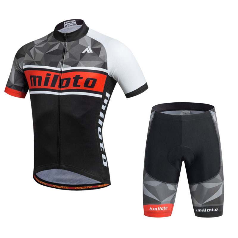China custom cycling jersey 2017 pro teams men short sleeve biking clothes quick dry
