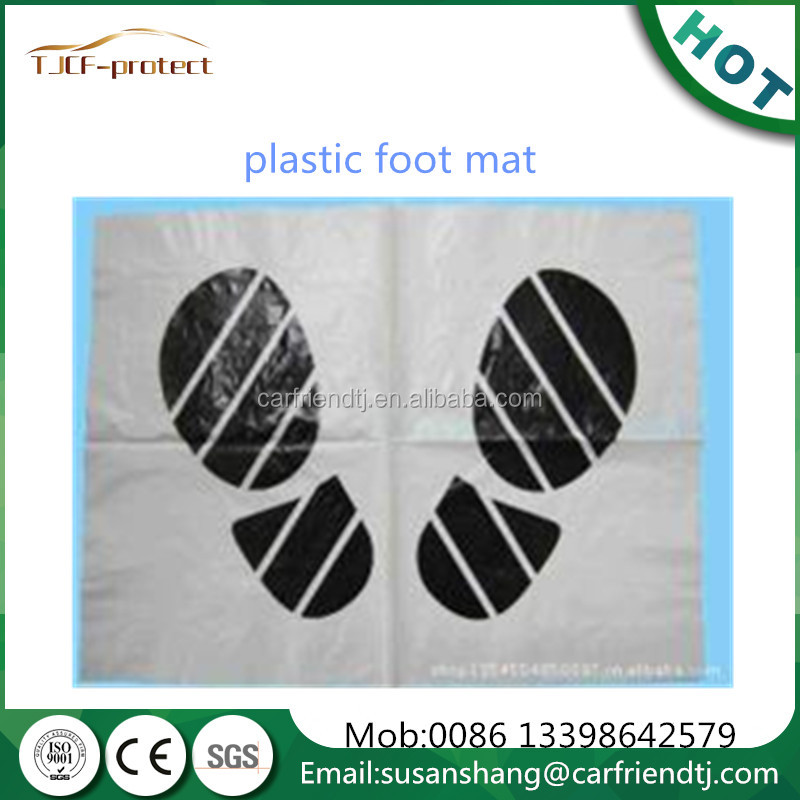 disposable auto paper and ldpe plastic floor mats vehicle maintenance and cleaing products