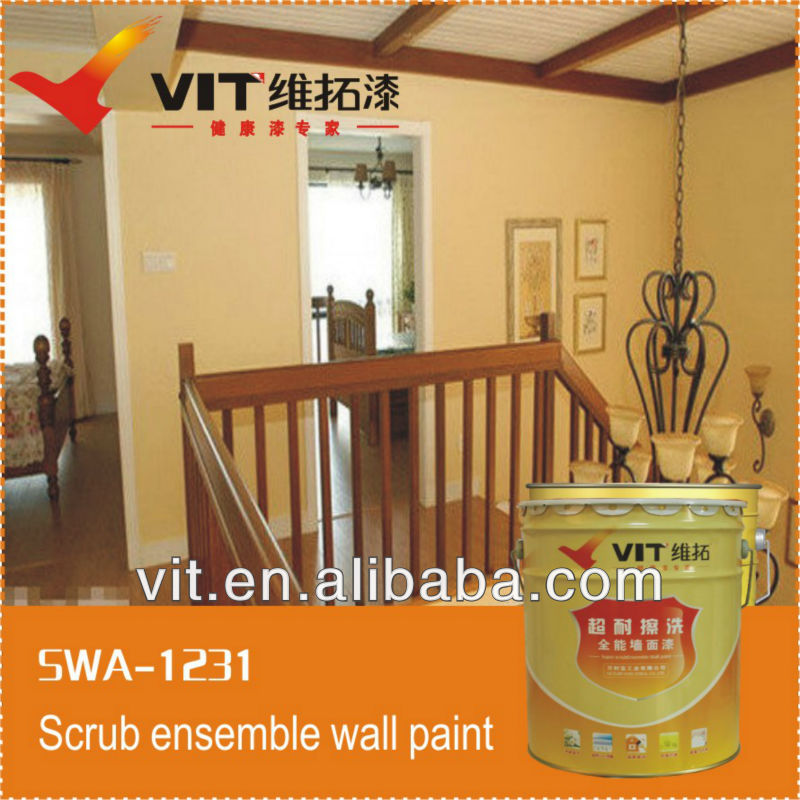 VIT weather ability crack resistance exterior wall paint