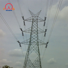 Low price for 220 to 500kv high voltage power transmission terminal steel tower