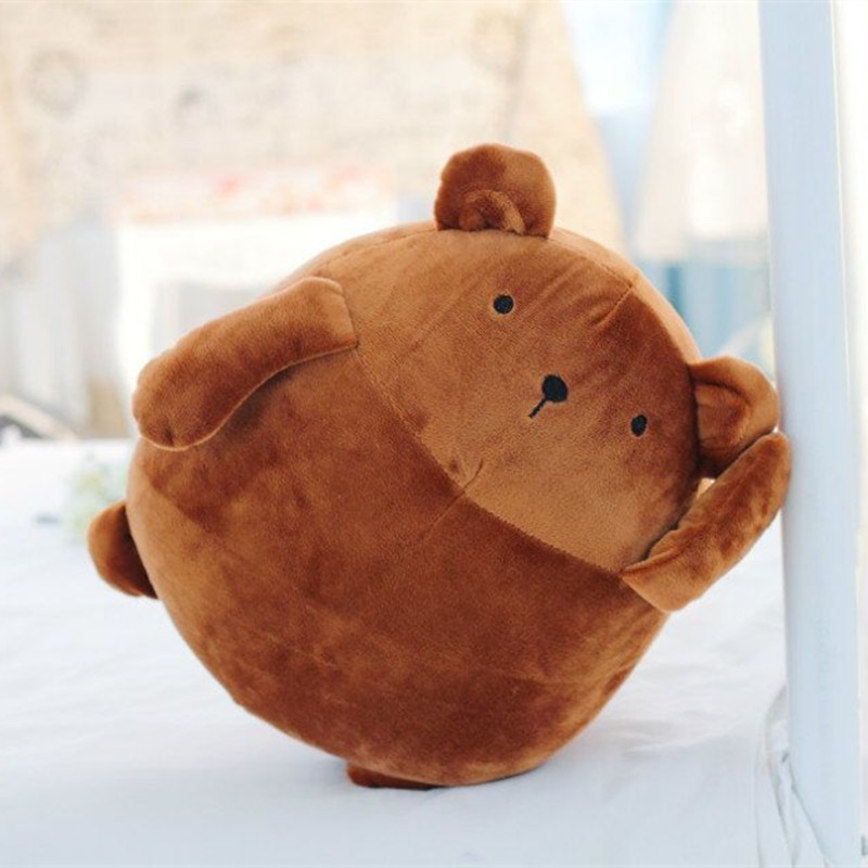 Custom pp cotton adorable fat potato bear plush toy for lovers