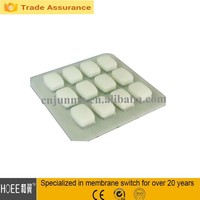 custom waterproof silicon rubber button keypad