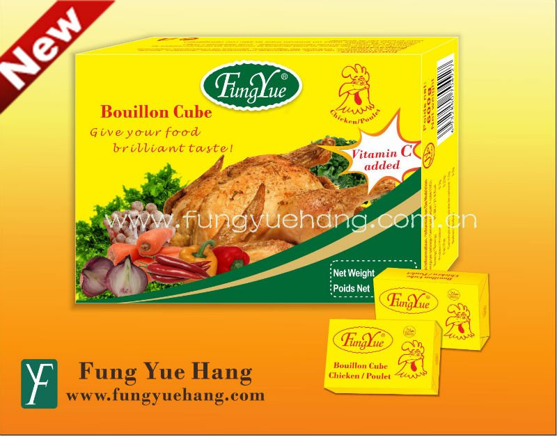 10g Chicken Bouillon Cubes for HALAL