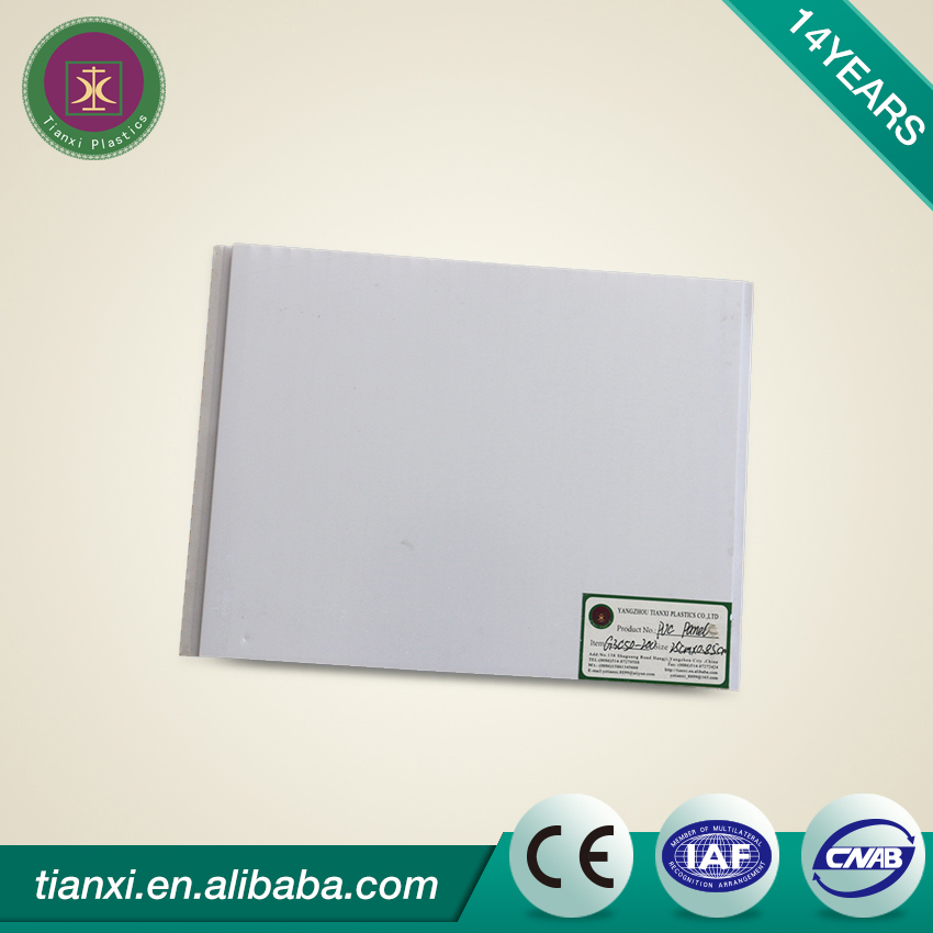 Light weight PVC ceiling panel cornice/PVC ceiling board price