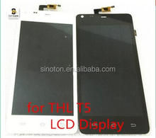 New original LCD Display and Touch Screen Digitizer Assembl For THL T5 T5S Smarty For THL T5 T5S Smart Cell phone