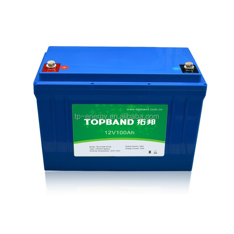 High quality 12V 100Ah lithium ion battery for cars/bus