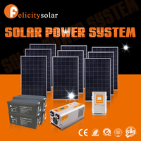 guangzhou felicity 2015 High Quality 5.0kva off-grid solar power system in pakistan