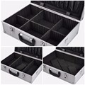 Hot selling Aluminum Tool Case strong&portable aluminum case storage aluminum carrying case KL-TC032