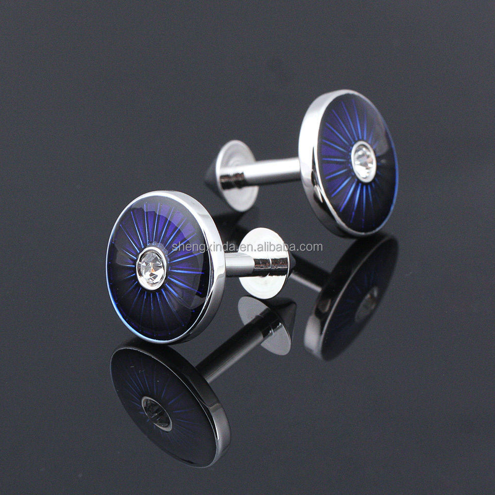 Best quality wooden watch and box metal cufflinks